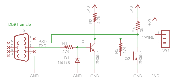 1 Wire - Repair Wiring Scheme